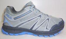 Fila Size 6 NORTHAMPTON Grey Light Blue Trail Sneakers New Womens Shoes