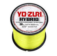 Yo-Zuri Hybrid Hi-Vis Yellow 600 Yards High-Vis Copolymer Monofilament Line
