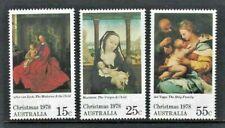 Australia 1978, Christmas sg696/8 MNH