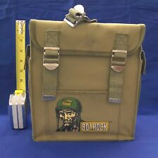 Sgt. Rock Kids Backpack 1981 Signed by Neal Adams Very Good B