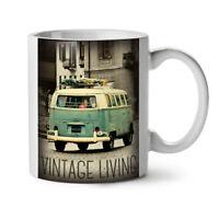 Truck Life Old Vintage NEW White Tea Coffee Mug 11 oz | Wellcoda