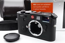 """Near Mint"" Leica M7 Engrave 0.72 Rangefinder Body Black Ever Ready Case M #250"