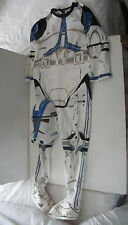 STAR WARS STORM TROOPER OUTFIT - MEDIUM  7 - 9 YRS? FANCY DRESS OUTFIT