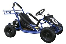 48v 1000w High Performance Tdpro Electric Off Road Ride On Blue Go Kart