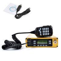 70CM 2 Meters Packable Car Radio Portable Mobile Transceiver 25W + Program Cable