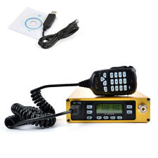 70CM 2 Meters Packable Car Radio Portable Mobile Transceiver 25W + Program Cable