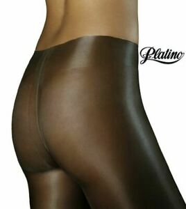 Cleancut Glossy Shiny Pantyhose 40 Denier Sheer to Waist High Gloss Pantyhose