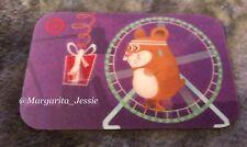 Target LENTICOLARE 2008 Gift Card CRICETO in esecuzione in una ruota alcun valore