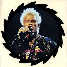 Billy Idol - New 1988 Tell Tales Shaped Interview UK Picture Disc LP Record!