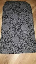 LADIES SCARF IN GREY AND BLACK COLOUR , ONE SIZE,COTTON BLEND