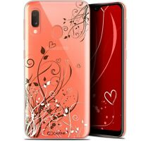 "Coque Pour Samsung Galaxy A20E (5.8"") Extra Fine Love Hearts Flowers"