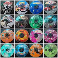 Assorted TESTED Playstation 1 (PS1) Games. Resurfaced & Tested.