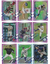 2021 Topps Chrome - Inserts - Refractors - Sepia - Variations