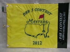 2012 Augusta National Masters Tournament Par 3 Contest Pin Flag Bubba Watson