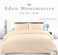 """EM"" Hotel Collection 400-TC 100% Cotton 3 Pc. BEIGE Duvet Cover Set - KING"