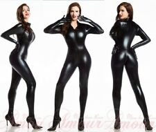 PVC Women Lingerie Teddie ClubWear Underwear Jumpsuit Catsuit Fancy Dress B7055