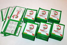 Display Boxes PANINI EM EC EURO 2008 1.000 cartocci packets BUSTINE VERDE GREEN