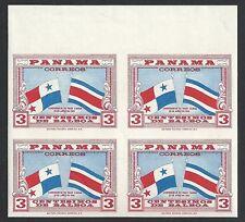 Panama 1961 3c Imperforated Bloc of 4  MNH  VF