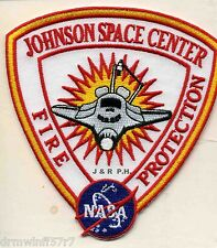 "N.A.S.A. - Johnson Space Center, Houston, TX  (4"" x 4.25"" size) fire patch"