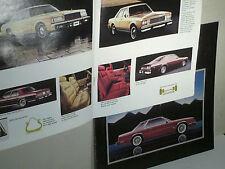 CATALOGUE DODGE GAMME 1980 SEDAN/VAN/SW/+CATAL MIRADA
