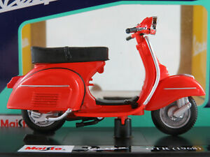 Maisto 05090 Vespa 125 GTR (1968) in rot 1:18 NEU/OVP