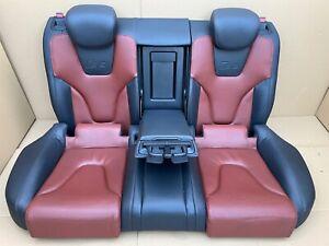 Audi A5 S5 A4 S4 B8 Load Through Leather Seats Back Heated Getränkehalterung
