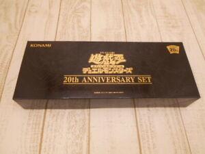 Yu-Gi-Oh OCG 20th ANNIVERSARY SET Duel Monsters Box Card Game Konami