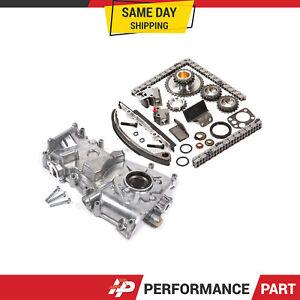 Timing Chain Kit Oil Pump for 91-97 2.4L Nissan Altima KA24DE DOHC