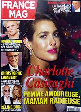 Mag 2015: CHARLOTTE CASIRAGHI_SYLVIE VARTAN_EVA LONGORIA_CHRISTOPHE LAMBERT