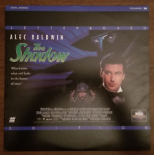 LASERDISC Movie: THE SHADOW - Alec Baldwin, Tim Curry, Peter Boyle - Collectible