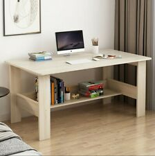 Computer Desk PC Laptop Table Study Workstation Wood Home Office W/Shelf US