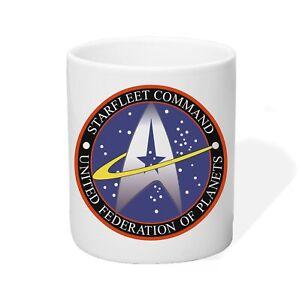 Tasse Kaffeetasse Starfleet Command Star Trek United Federation of Planets
