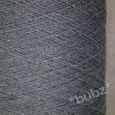 Cashwool pure laine mérinos 500 cône 2/30 gris moyen laceweight toile d'araignée fil 2 brins