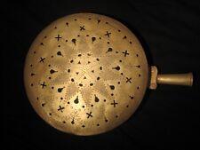 Très Ancienne bassinoire laiton fin du XIX ème - Antique Bed Warmer Copper Brass