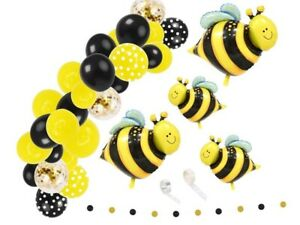 Balloon Arch Bee Themed Party Decoration Balloon Kit Bumble Bee Birthday Party