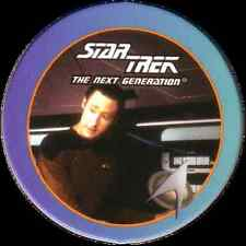 STAR TREK THE NEXT GENERATION, LIEUTENANT DATA, STARTDISC POG MILK CAP, # 53