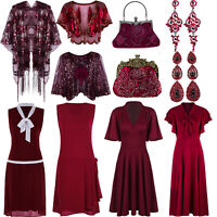 1920s Flapper Dress 50s Swing Costumes Party Cocktails Evening Gown Plus Size 20