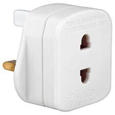 Universal Electric Shaver Adaptor 1 AMP 250V AC Travel Holiday Bathroom Plug
