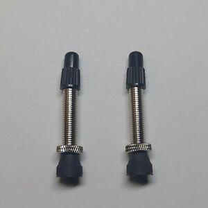 Tubless Valves Pair - Universal - 35mm Valve Length