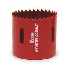 Morse Lot Of 3 - 37mm Master Cobalt Holesaw Av23 1-7/16 Wood Metal Plastic
