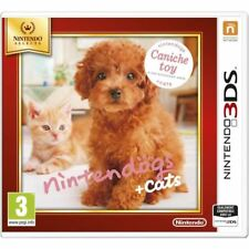 Nintendogs Caniche Toy + cats * Nintendo Select * 3DS neuf sous blister VF