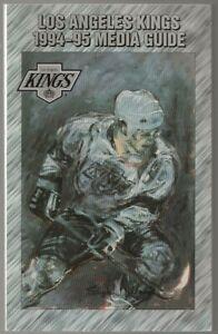 1994-95 Los Angeles Kings NHL Hockey Media Guide Record Book