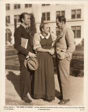 Fredric March visits Marlene Dietrich Brian Aherne VINTAGE Photo Song of Songs