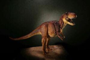 Tyrannosaurus Brown color 1/20 Soft Vinyl Figure