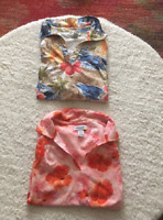Pick 1:Two Tropical Polo Shirts Size Large