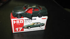TOMY TOMICA 1.65 SCALE  #17 TOYOTA CELSIOR MADE IN JAPAN  HARD TO FIND MODEL