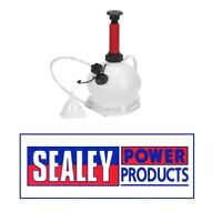 SEALEY Vacuum Oil & Fluid Extractor Manual 4ltr MS156