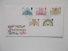 1980 Christmas First Day Cover with House of Commons Cds Unaddressed Cat £25