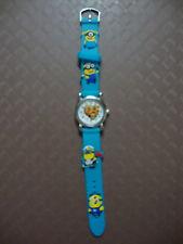 Kids Despicable Me Minion Analogue (BlueB) Silicone Band wrist watch BRAND NEW