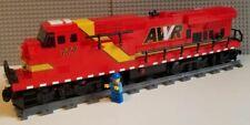 Lego Train Custom Unstoppable Movie ES44ac 777 PLEASE READ ITEM DESCRIPTION